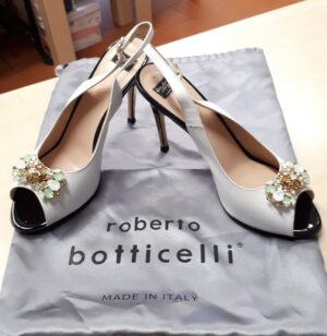 SANDALO PELLE 39 ROBERTO BOTTICELLI